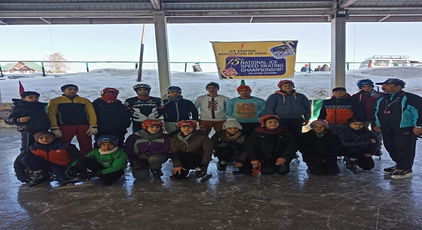 15th NATIONAL ICE SPEED SKATING CHAMPIONSHIP-GULMARG