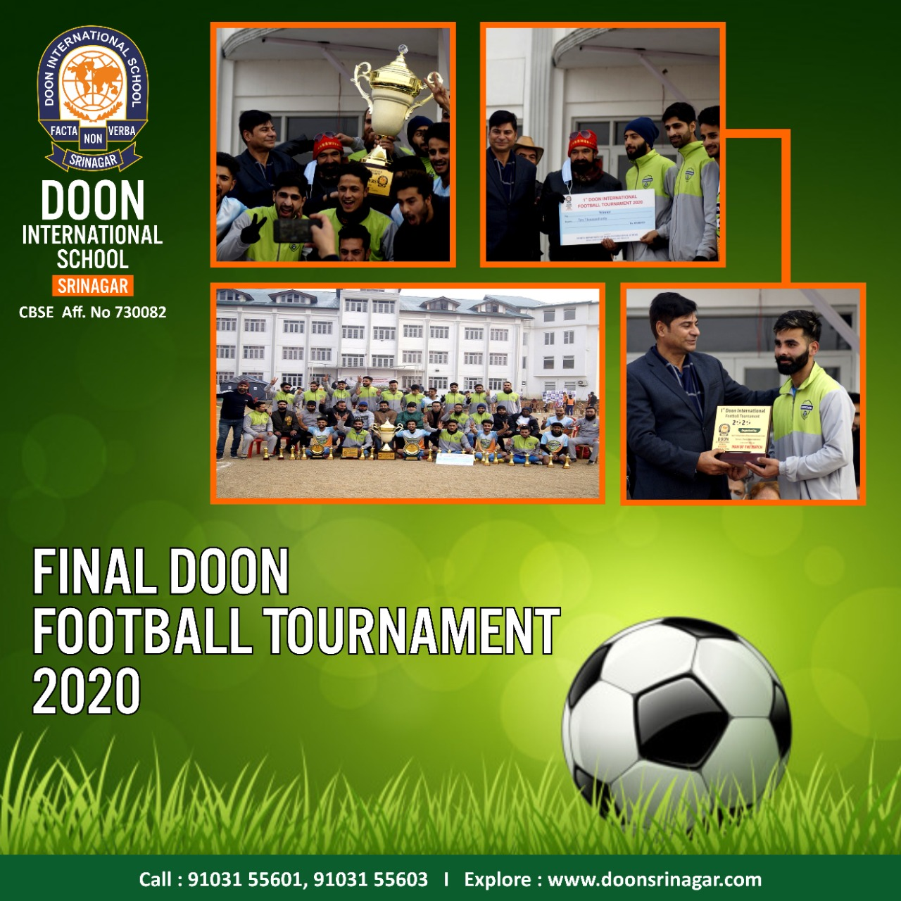 Ist Doon Football Tournament 2020