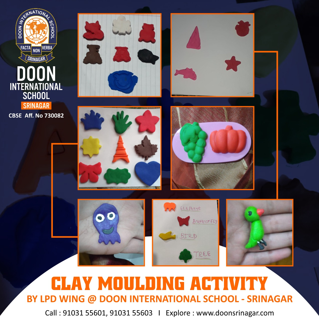 Clay Moulding Activity || LPD Wing